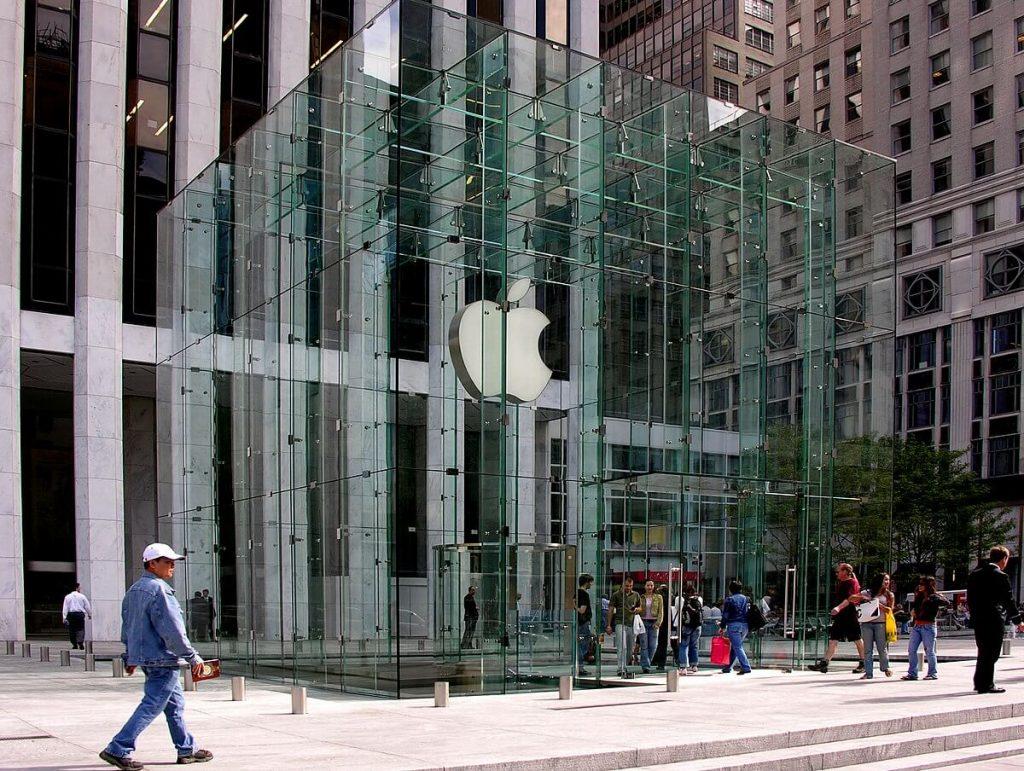 Apple mažina darbuotoju skaiciu del sumazejusios produkcijos paklausos
