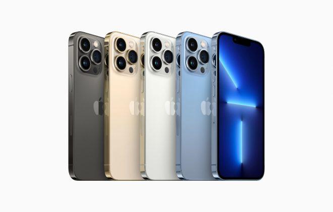 nauji iphone 13 telefonai